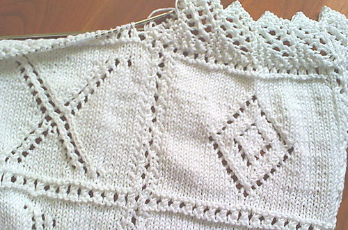 Knit Shear Bliss Baby Blanket